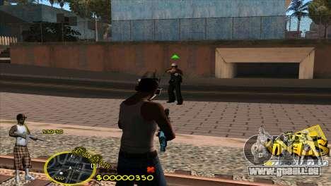 C-HUD Vagos by HARDy pour GTA San Andreas troisième écran