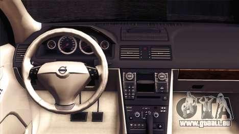 Volvo XC90 2009 für GTA San Andreas Rückansicht