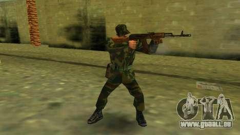 La forme de la Fédération de Russie des FORCES a GTA Vice City pour la troisième écran