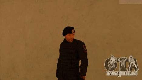Les peaux de la police et de l'armée pour GTA San Andreas sixième écran