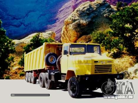 Boot-screens sowjetischen LKW für GTA San Andreas her Screenshot