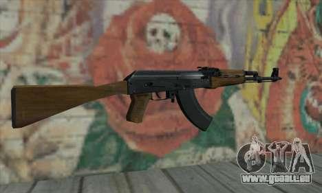 AK47 de L4D pour GTA San Andreas deuxième écran