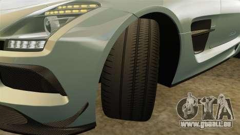 Mercedes-Benz SLS 2014 AMG Black Series pour GTA 4 vue de dessus