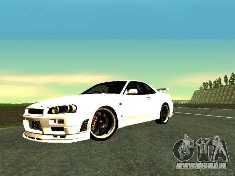 Nissan Skyline R34 GT-R pour GTA San Andreas