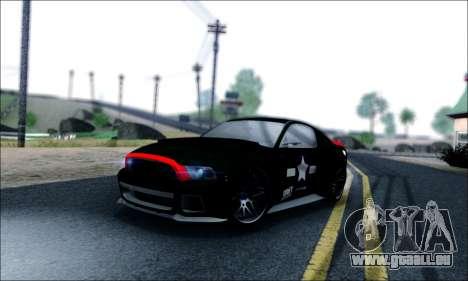 Ford Mustang GT 2013 v2 pour GTA San Andreas vue de dessous