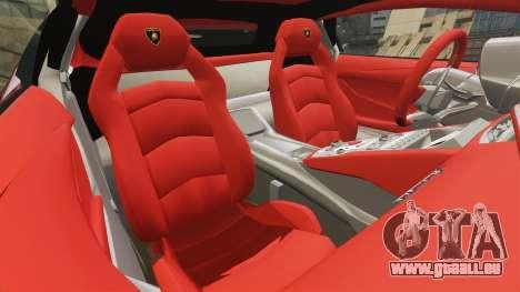 Lamborghini Huracan 2014 Oakley Tuning für GTA 4 Seitenansicht