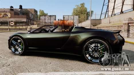 GTA V Dinka Jester [Redone] für GTA 4 linke Ansicht