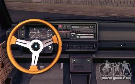 Volkswagen Golf Mk2 für GTA San Andreas rechten Ansicht