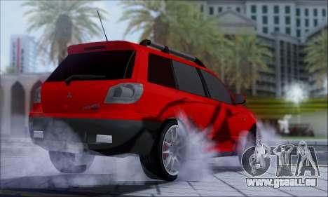 Mitsubishi Outlander Turbo 2005 für GTA San Andreas rechten Ansicht