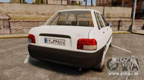 Kia Pride 131 EX für GTA 4 hinten links Ansicht