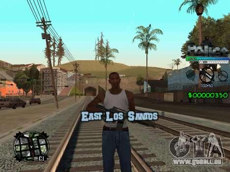 C-HUD by Powwer für GTA San Andreas