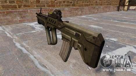 Fusil d'assaut TAR-21 pour GTA 4 secondes d'écran