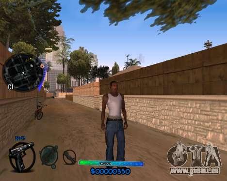 C-HUD by Vadya für GTA San Andreas