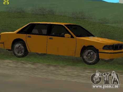 Premier 2012 pour GTA San Andreas vue de dessous