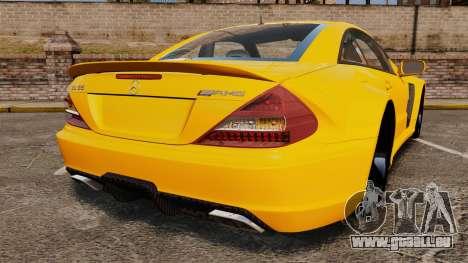 Mercedes-Benz SL65 AMG für GTA 4 hinten links Ansicht