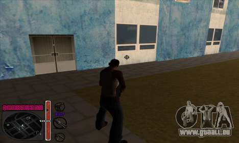 C-HUD by Andy Cardozo für GTA San Andreas zweiten Screenshot