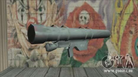 Lanceur de fusée pour GTA San Andreas
