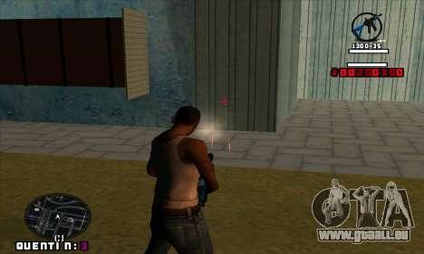 C-HUD Quentin pour GTA San Andreas quatrième écran