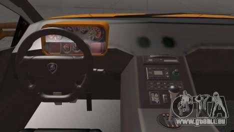 Lamborghini Diablo Stretch pour GTA San Andreas vue arrière