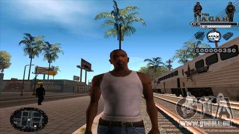 C-HUD A.C.A.B pour GTA San Andreas