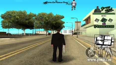 Hud By Tony pour GTA San Andreas