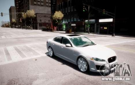 Jaguar XF-R 2012 v1.2 pour le moteur de GTA 4