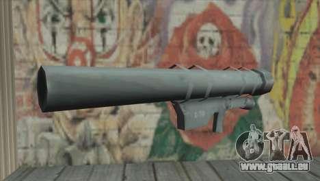 Lanceur de fusée pour GTA San Andreas deuxième écran