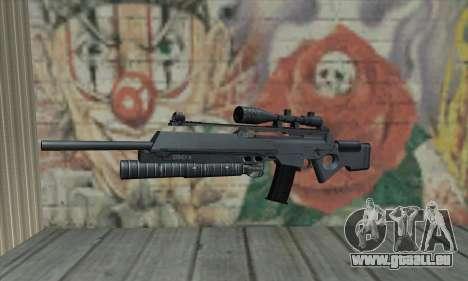 SG550 pour GTA San Andreas