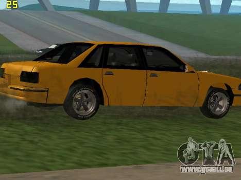 Premier 2012 pour GTA San Andreas vue de dessus