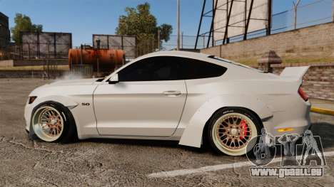 Ford Mustang 2015 Rocket Bunny TKF pour GTA 4 est une gauche