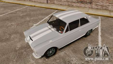 Lotus Cortina 1963 pour GTA 4 Salon