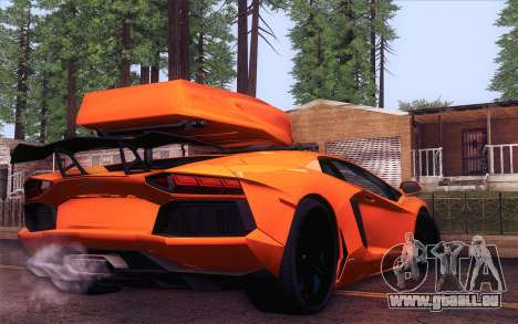 Lamborghini Aventador LP 700-4 für GTA San Andreas linke Ansicht