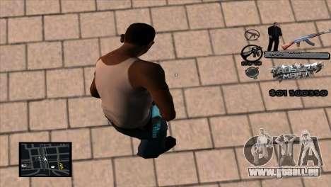 C-HUD Russian Mafia by Luigie pour GTA San Andreas deuxième écran