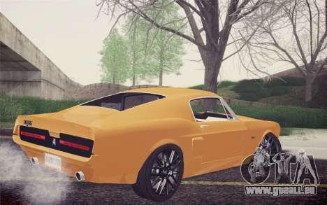 Equus Bass 770 pour GTA San Andreas laissé vue