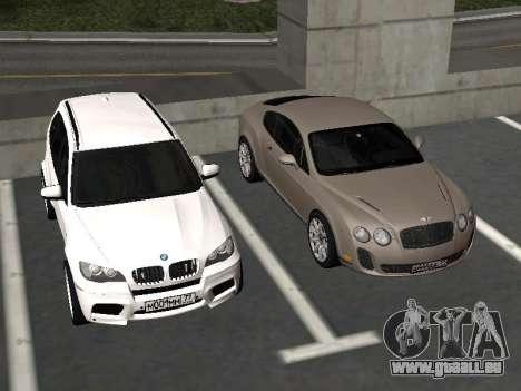 Bentley Continental Supersports für GTA San Andreas Seitenansicht