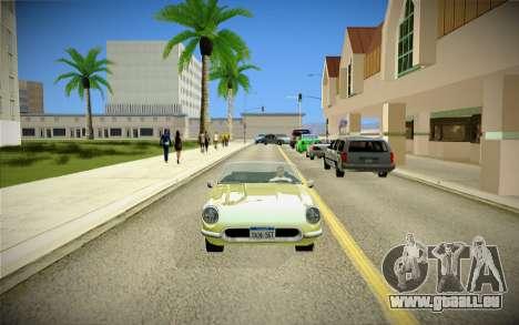 ENBSeries pour la faiblesse du PC pour GTA San Andreas neuvième écran