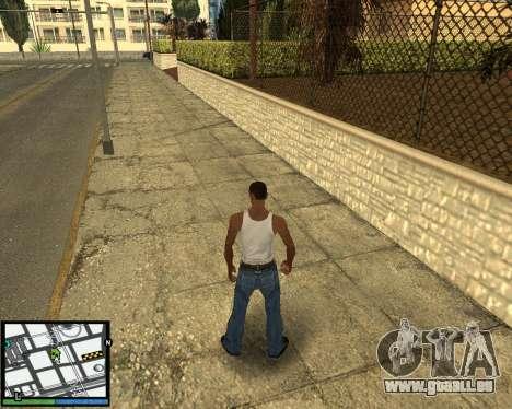 GTA V hud für GTA San Andreas dritten Screenshot