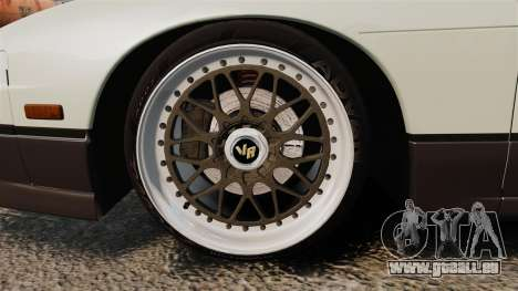 Nissan Onevia S13 [EPM] pour GTA 4 Vue arrière