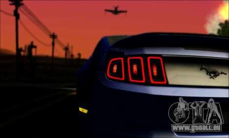 Ford Mustang GT 2013 v2 für GTA San Andreas Innenansicht