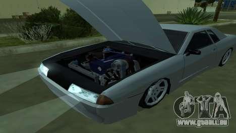 Elegy 280sx pour GTA San Andreas salon