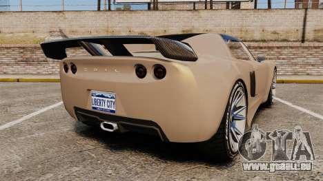 GTA V Coil Voltic pour GTA 4 Vue arrière de la gauche