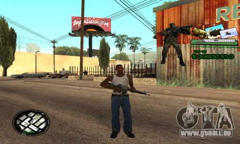 C-HUD Army Troops für GTA San Andreas zweiten Screenshot