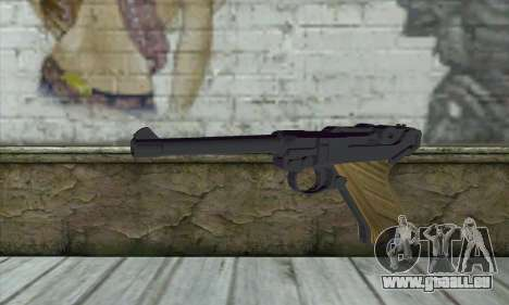 LugerP08 für GTA San Andreas