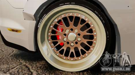 Ford Mustang 2015 Rocket Bunny TKF pour GTA 4 Vue arrière