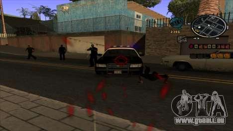 News C-HUD pour GTA San Andreas troisième écran