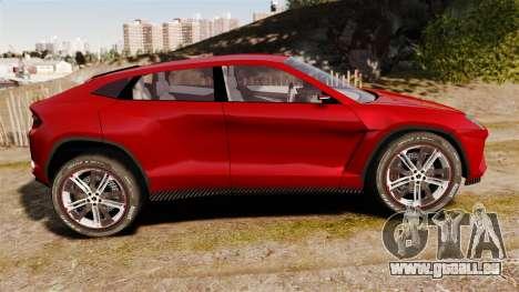Lamborghini Urus LP840 2015 für GTA 4 linke Ansicht