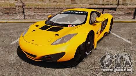 McLaren MP4-12C GT3 (Updated) pour GTA 4