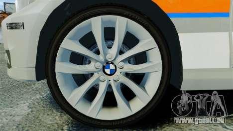 BMW 330i Touring Metropolitan Police [ELS] für GTA 4 Rückansicht