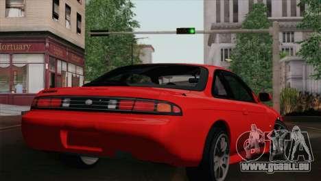 Nissan Silvia S14.5 pour GTA San Andreas laissé vue