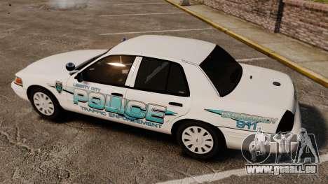 Ford Crown Victoria Traffic Enforcement [ELS] pour GTA 4 est un côté